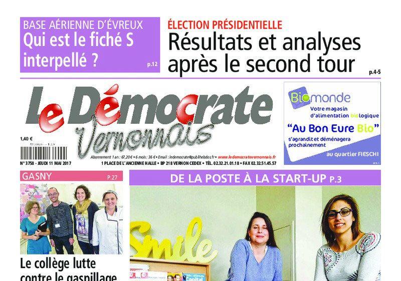 Journal d'annonces légales Le Démocrate Vernonnais