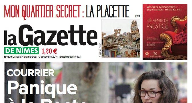 Journal d'annonces légales La Gazette de Nîmes