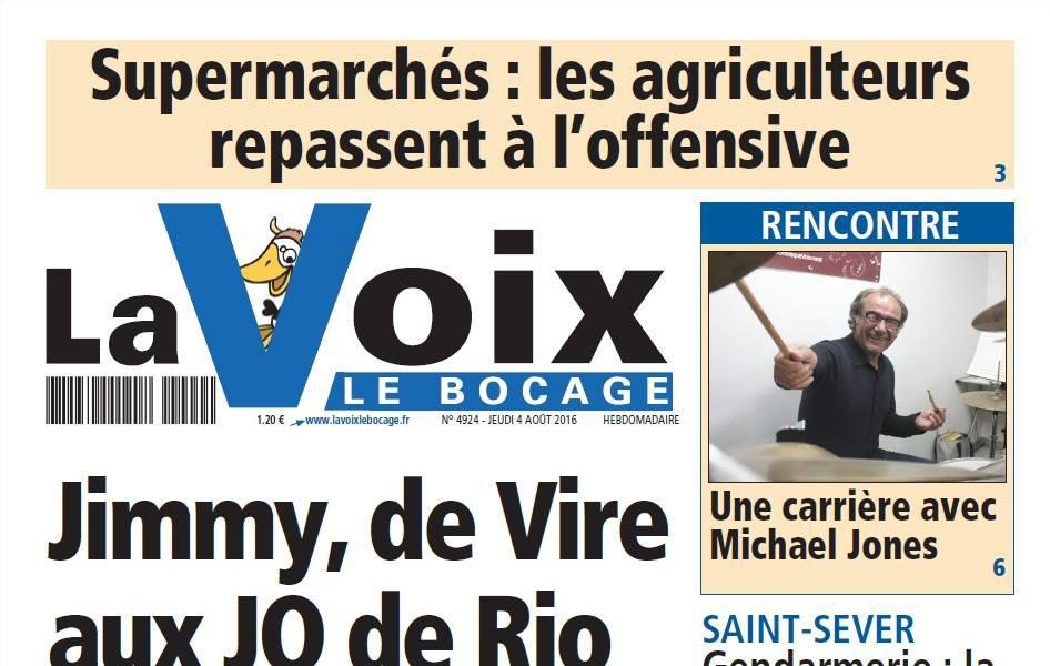 Journal d'annonces légales La Voix Le Bocage