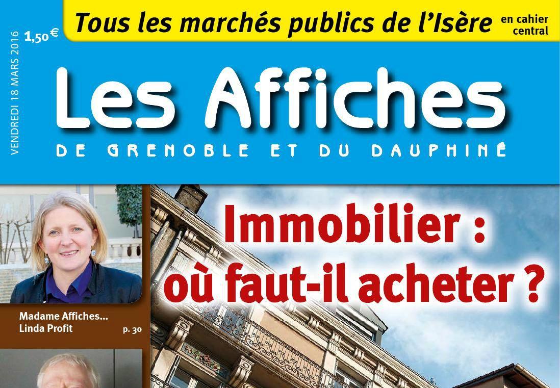 Journal d'annonces légales Les Affiches de Grenoble et du Dauphiné