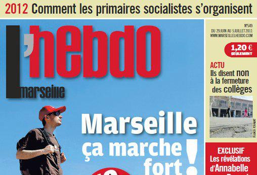 Journal d'annonces légales Marseille L'Hebdo