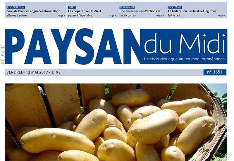 Journal d'annonces légales Le Paysan du Midi