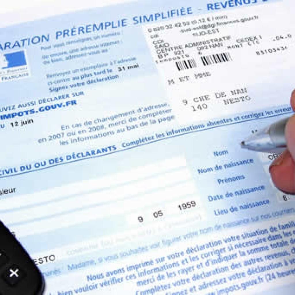 Déclaration 2015, impôts sur le revenu