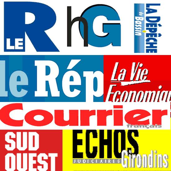 Journaux d'annonces légales département Gironde