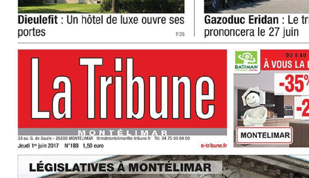 Journal d'annonces légales La Tribune de Montélimar
