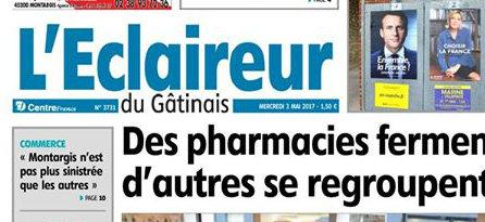 Journal d'annonces légales L'Eclaireur du Gâtinais