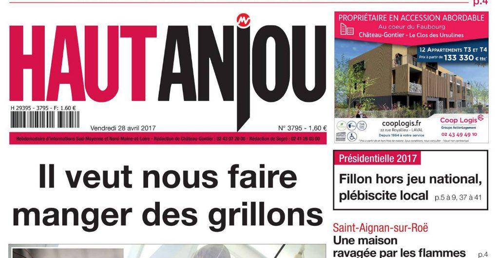 Journal d'annonces légales le Haut Anjou