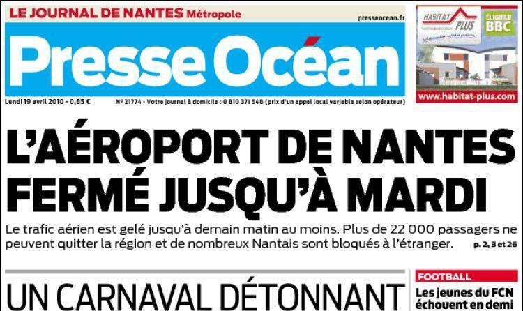 Journal d'annonces légales Presse Océan